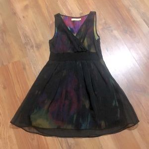 Urban Outfitters Pins & Needles Watercolor Dress